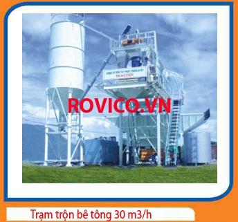 Trạm Trộn Bê Tông 30 m3/h